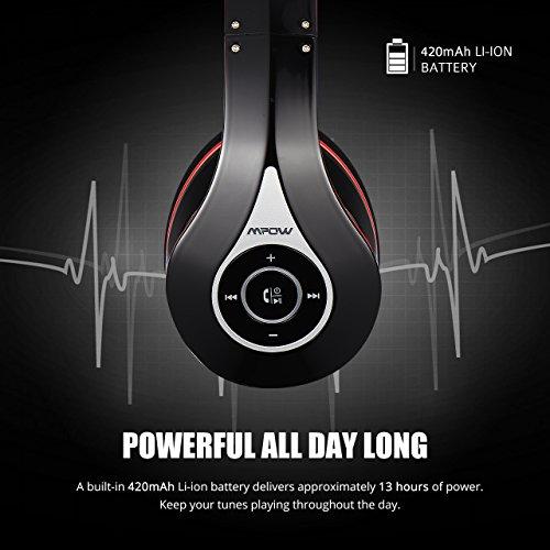 MPOW 059 Headphones battery performance