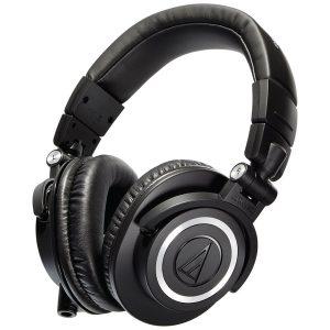 Audio Technica ATH M50X Headphones black