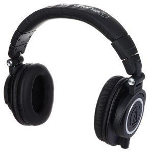 Audio Technica ATH M50X Headphones battery performance