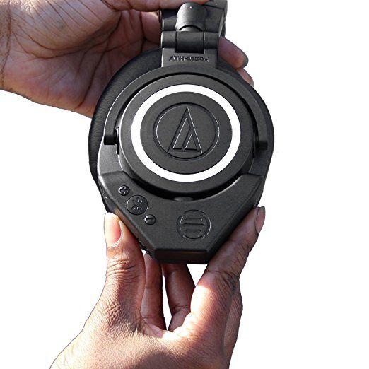 Audio Technica ATH M50X Headphones control
