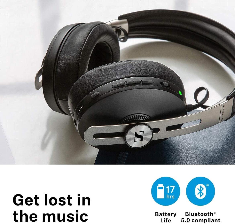 The Sennheisser Momentum 3 wireless headphones have multipoint support